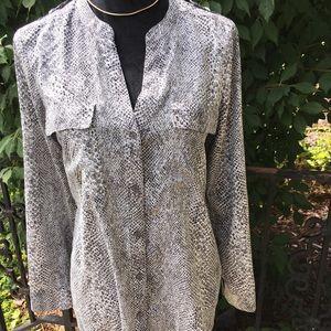 Calvin Klein long sleeved blouse